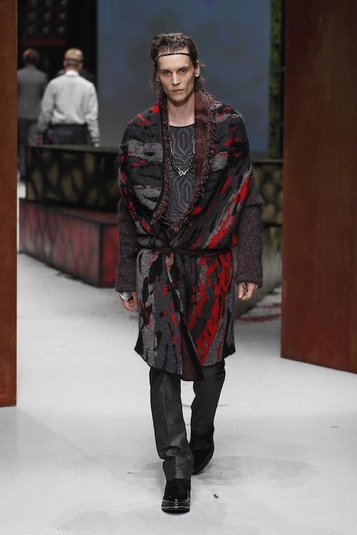 official photos 372ed e407d Milano Moda Uomo gennaio 2014: Roberto Cavalli e il mondo ...