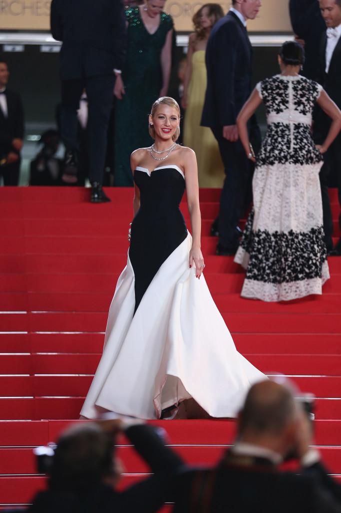 Festival di Cannes 2014  le celebrities sulla Croisette. Bellissima Blake  Lively in Gucci e492464574f