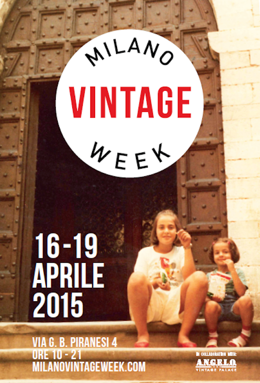 Milano Vintage Week - dal 16 al 19 aprile
