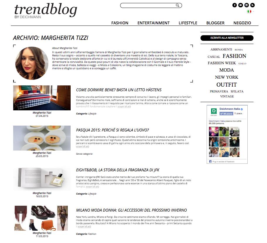 Deichmann fashion blogger