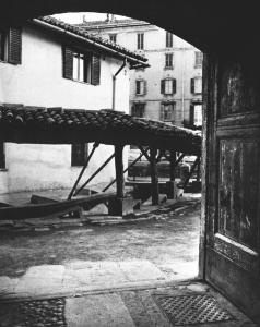 Vicolo dei Lavandai Navigli Milano
