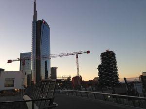 Torre Unicredit e Bosco Verticale Milano