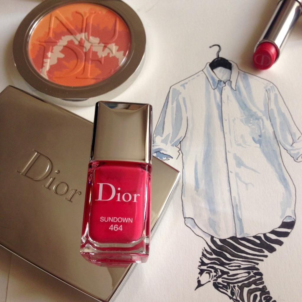 Dior make-up SS15