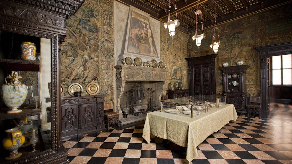 Bagatti Valsecchi sala da pranzo. Crediti fotografici Fondazione Bagatti Valsecchi