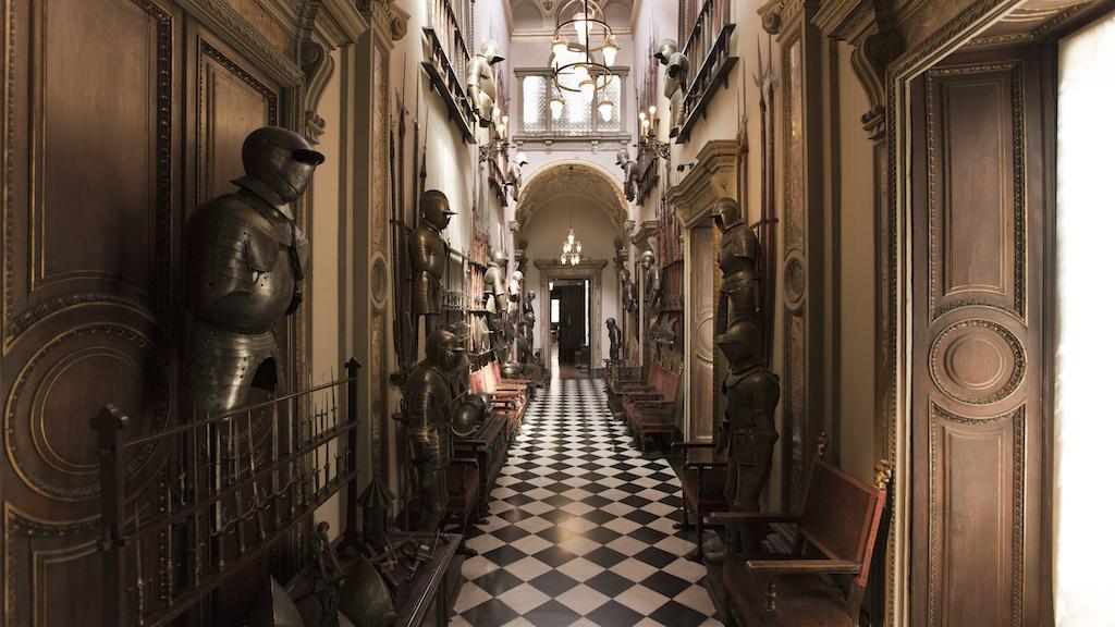 Bagatti Valsecchi sala delle armi. Crediti fotografici Fondazione Bagatti Valsecchi