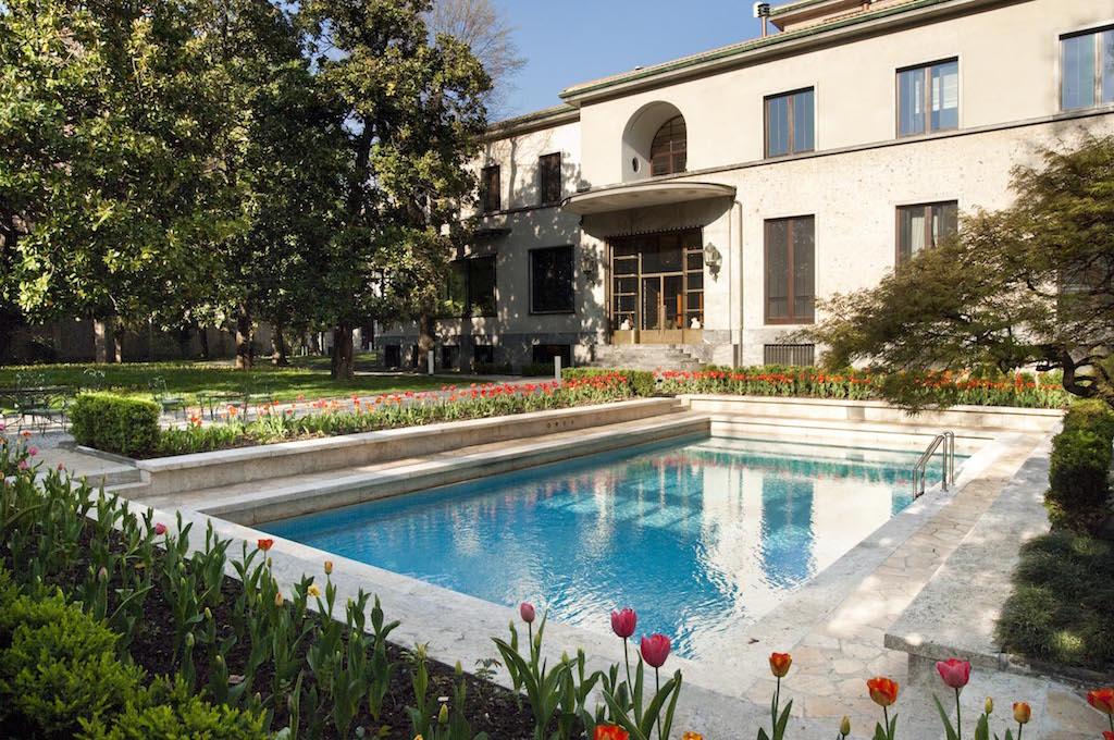 Villa Necchi Campiglio, Foto di Giorgio Majno, Archivio FAI - Fondo Ambiente Italiano