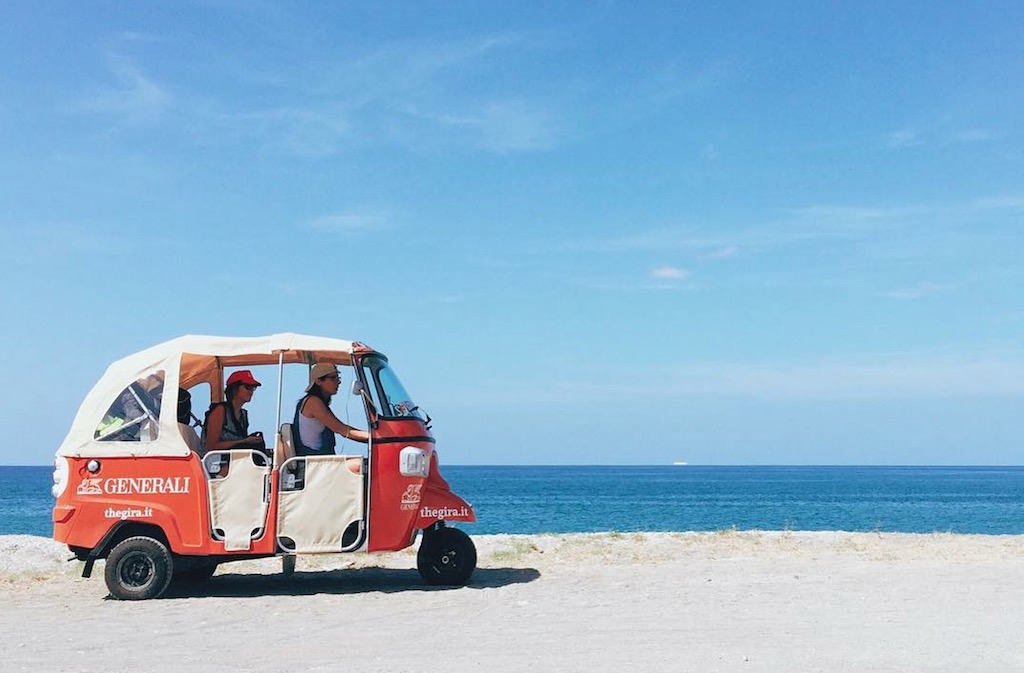 The Great Italian Rickshaw Adventure