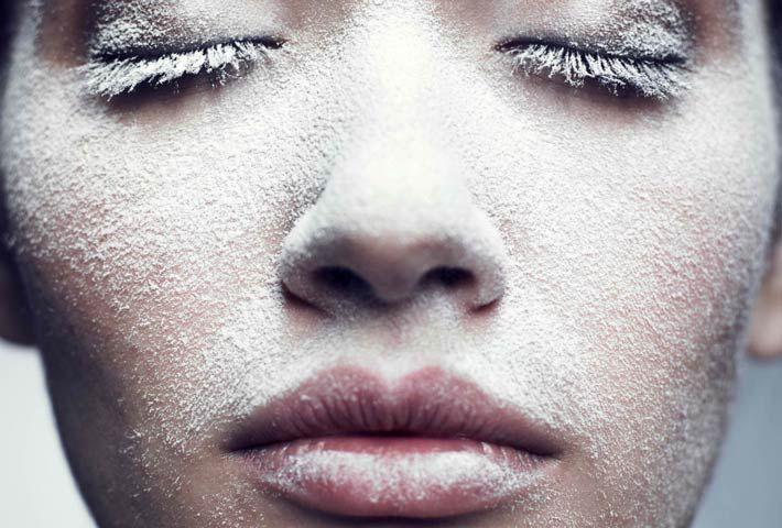 pelle del viso in inverno