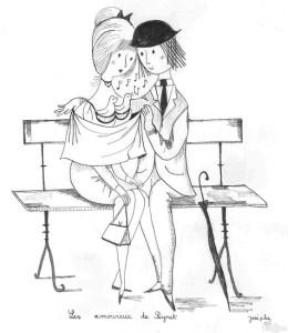 I fidanzatini di Raymond Peynet
