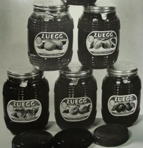 prima produzione confettura Zuegg