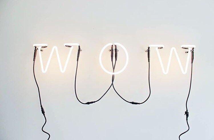 lettere luminose Seletti