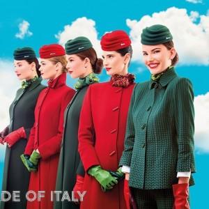 Alitalia, nuove uniformi