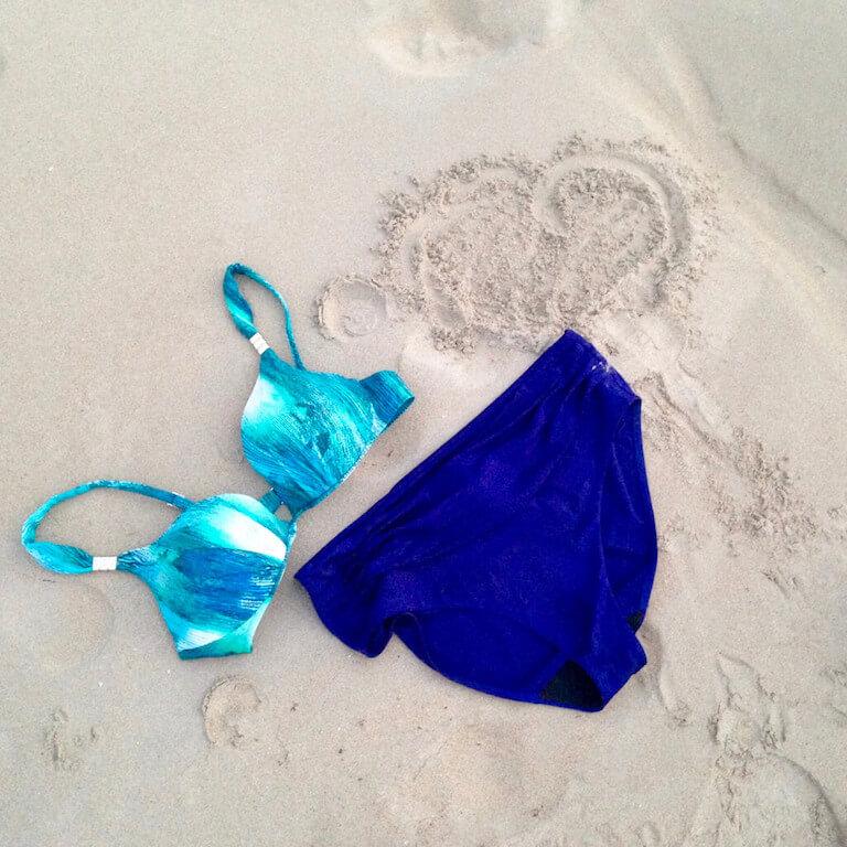Chantelle costume Desert Lodge + culotte tinta unita (2)