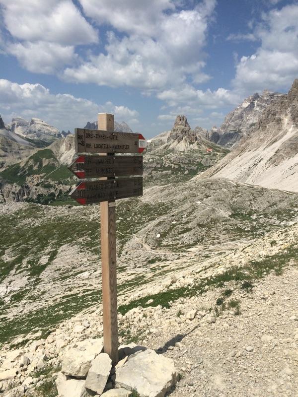 indicazioni trekking