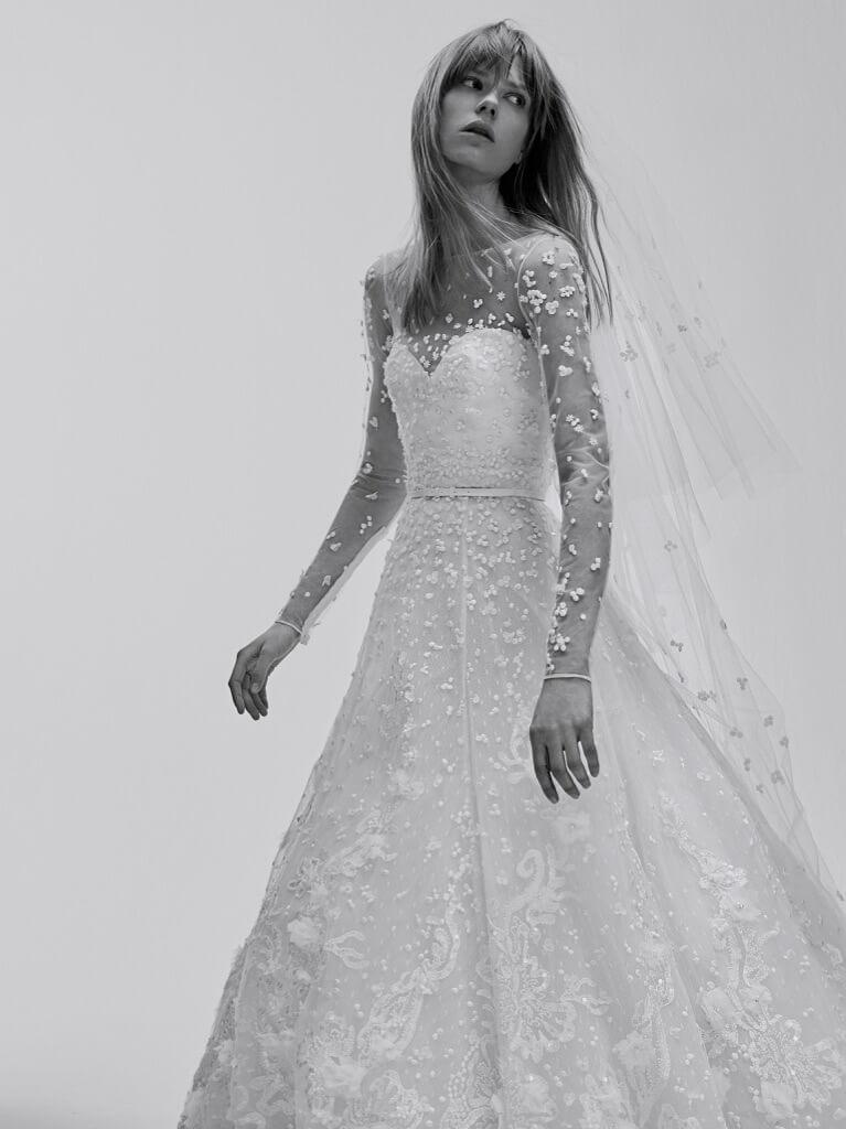 c22d53d6afedf Ecco tutte le foto della collezione di abiti da sposa Elie Saab Bridal