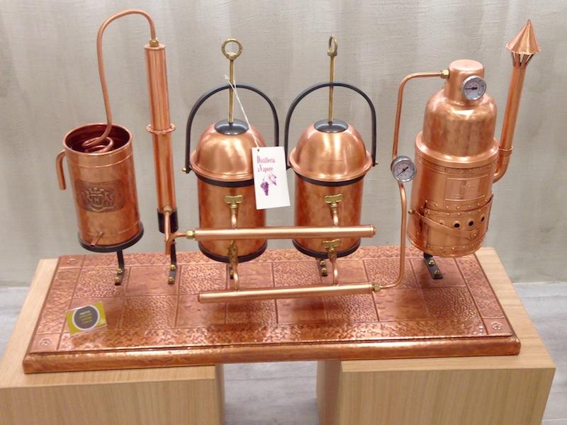 distillatore grappa mazzetti