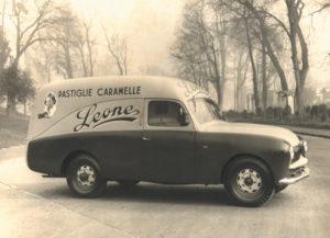 Pastiglie Leone furgoncino anni '50