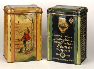 Pastiglie Leone latte storiche