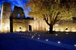 Palazzo dei Vescovi di Luni- Notturno