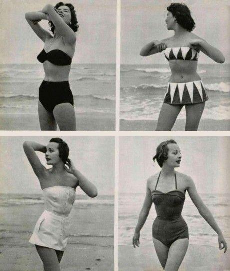 Bellezze al bagno. In costume anni \'40 e \'50