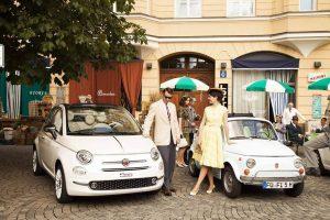 A Monaco un salto nel tempo fino agli anni Sessanta con la nuova Fiat 500 serie speciale dedicata al 60esimo anniversario