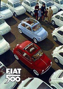 Fiat 500 archivio
