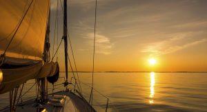 tramonto barca