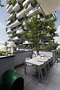 bosco verticale appartamenti esterno