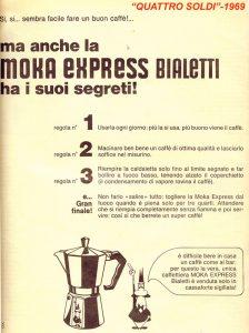 segreti moka express