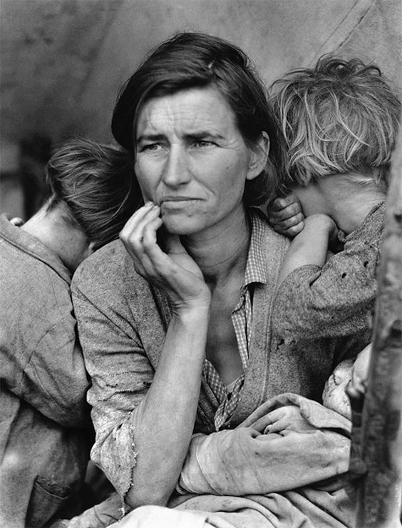 Migrant Mother, California,1936 dorothea lange madre migrante