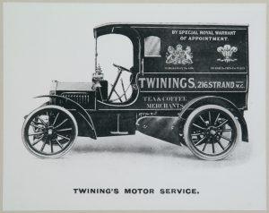 Twinings delivery van