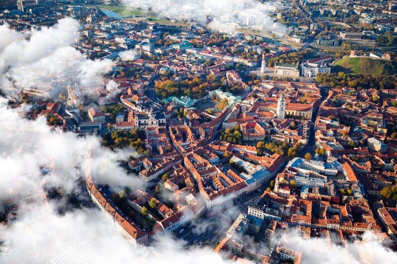 Vilnius città vecchia