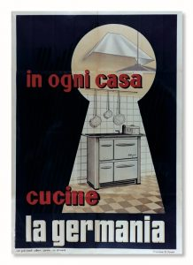 Poster cucine a legna 1954 la germania