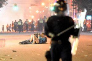 Vancouver Riot Kiss (2011), Richard Lam
