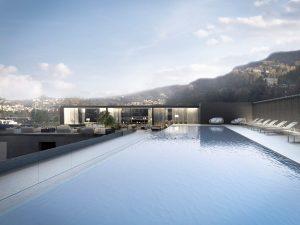 Hilton Lake Como Infinity pool