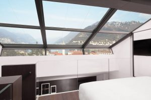 duplex room hilton lake como