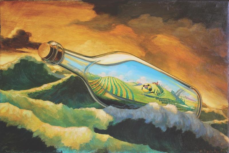 Paolo Rui, Messaggio in bottiglia