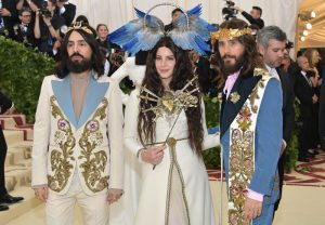 Gucci - Alessandro Michele, Lana Del Rey, Jared Leto image credit getty images