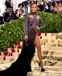 Jennifer Lopez Met Gala 2018 dress