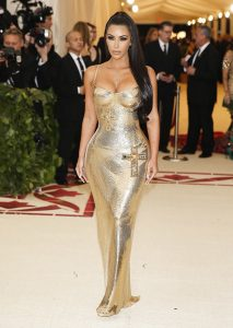 Kim Kardashian met gala dress 2018