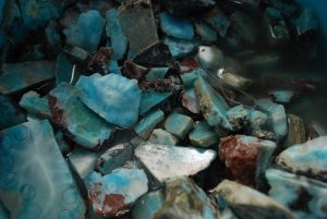 Larimar minerale