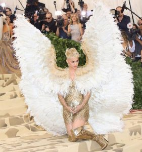 katy Perry Met Gala 2018 dress