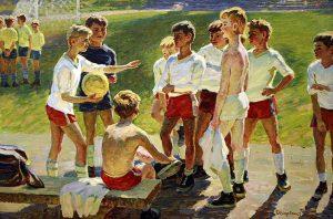 Aleksey Solodovnikov - Football (1979)