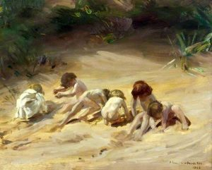 Charles Sims - On the Sand