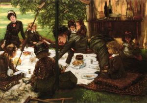 James Jacques Joseph Tissot, Children's Party (1881)