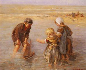 James Jacques Joseph Tissot, Children's Party (1881)