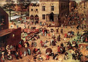 Bruegel il vecchio - Giochi di bambini (1560)