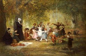 Anton Dieffenbach - Spielende Kinder