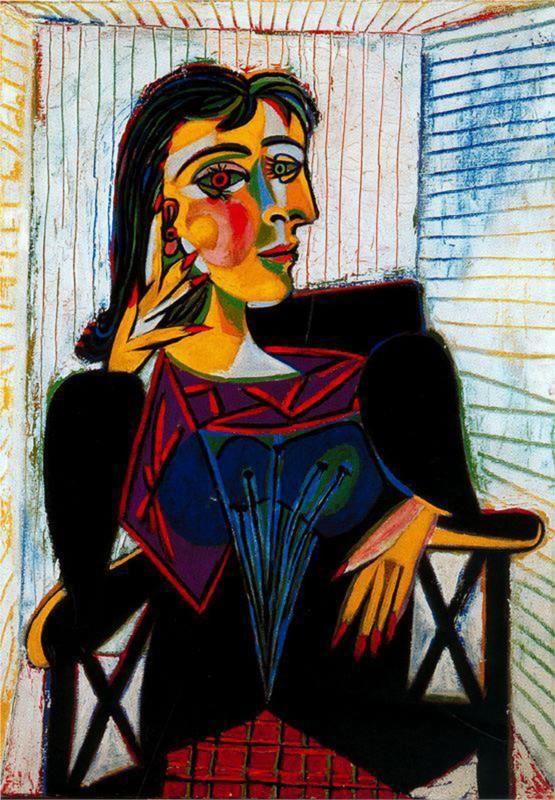 Portrait de Dora Maar, 1937.