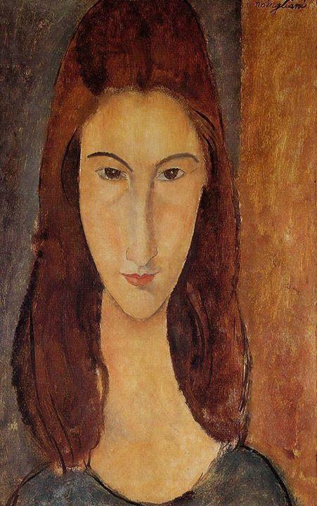 Ritratto di Jeanne Hébuterne, 1919